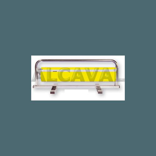 Portabobinas papel regalo 70 centimetros mostrador (Horizontal) niquelado plata