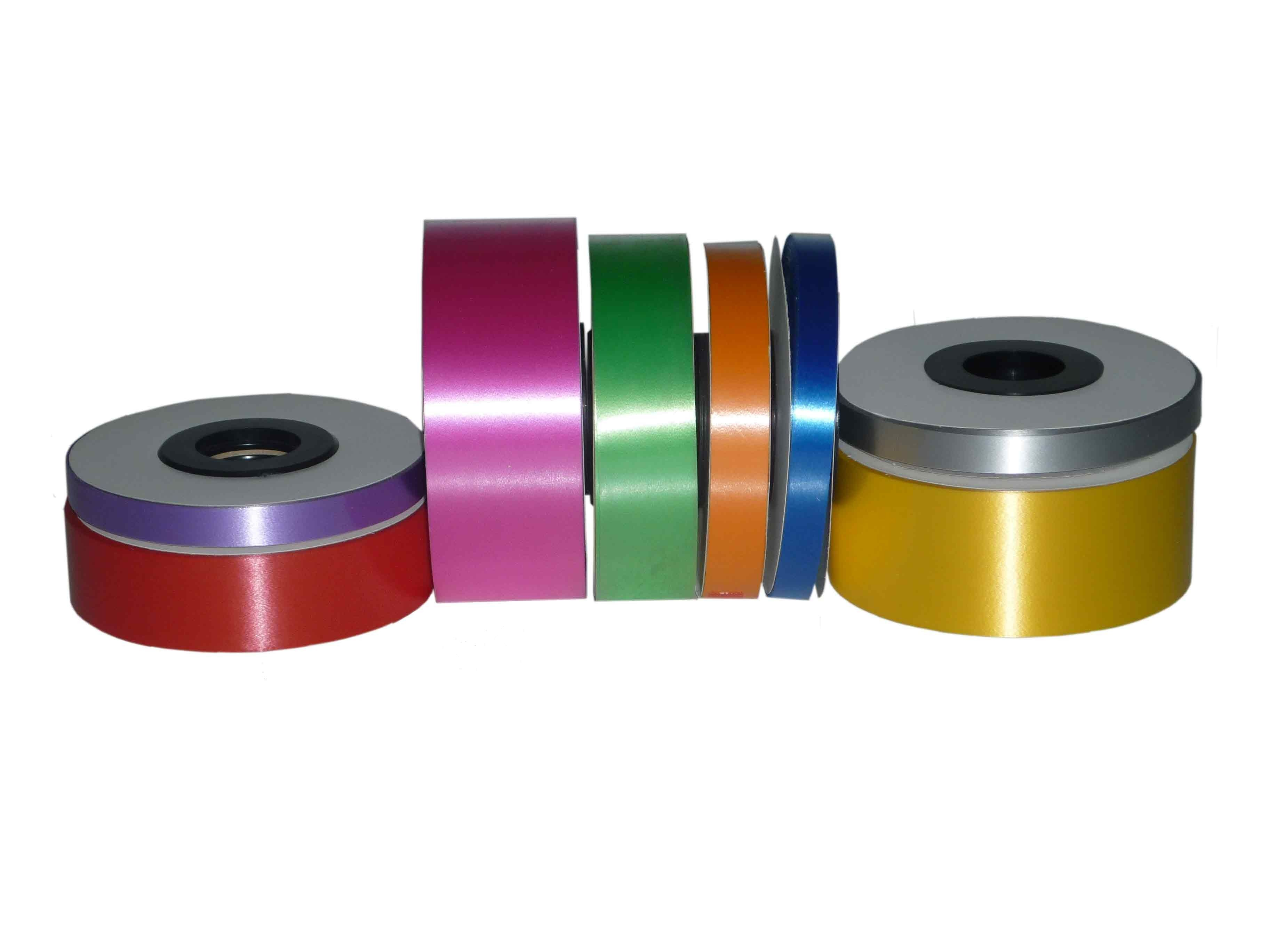 cinta decorativa lisa para hacer lazos anchos y colores disponibles