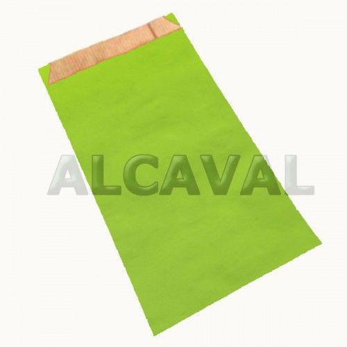 Sobres de papel de regalo  verde pistacho