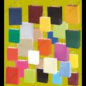 600 Bolsas de papel grandes con logotipo a 2 caras 44x50+15