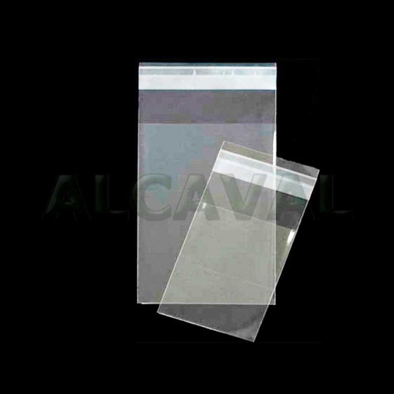 Bolsas de plástico con solapa adhesiva