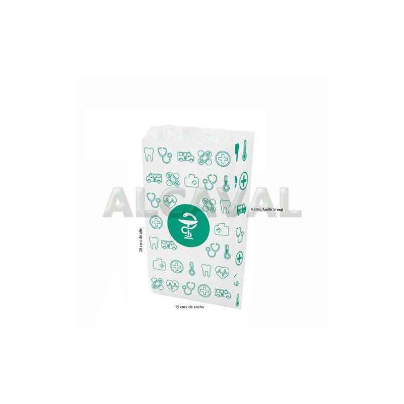 sobre papel farmacia mediano
