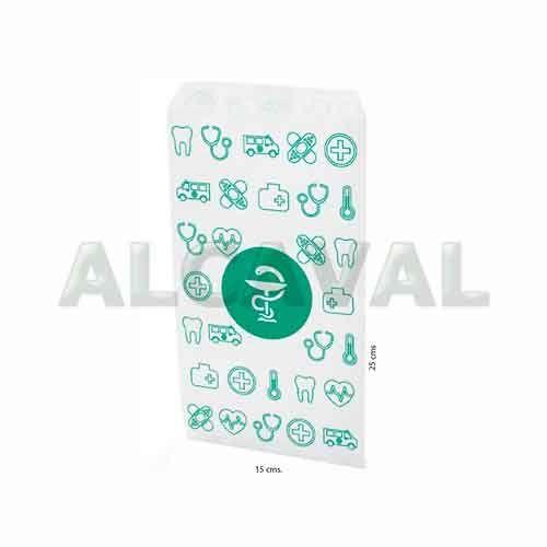 sobre de papel pequeño farmacia 15x25 Hth