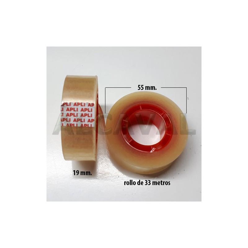 cinta adhesiva transparente celo para farmacias