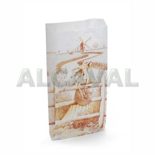 Bolsas papel panaderías blanca molinera