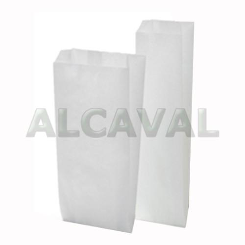 Bolsas papel panadería blanco anonimo