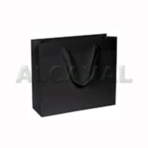bolsas de papel lujo negras