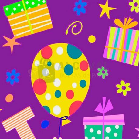 papel de regalo fiesta infantil