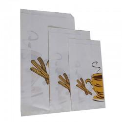 Oferta sobres de papel antigrasa para Churros y Buñuelos