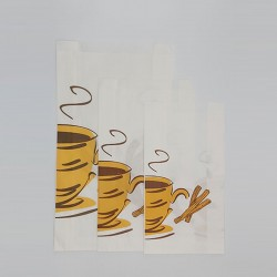 Bolsas de papel para churros.