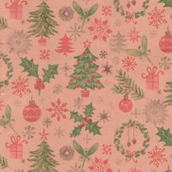 papel regalo navidad en papel reciclado