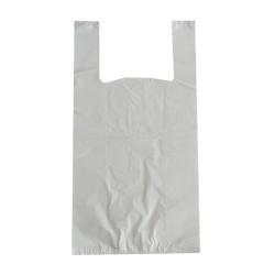 bolsa plastico reciclado con asa de camiseta