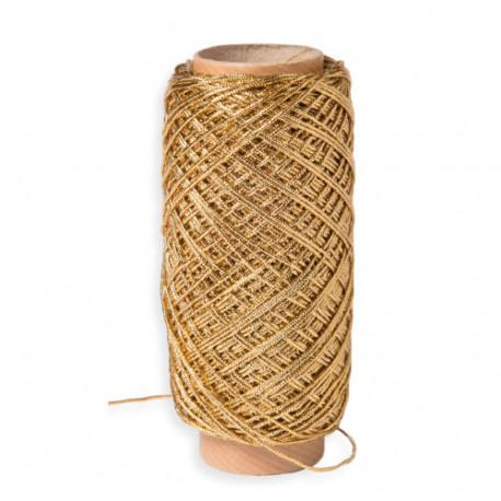 cordon textil oro