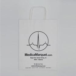 Bolsas de papel ecológica con asa retorcida