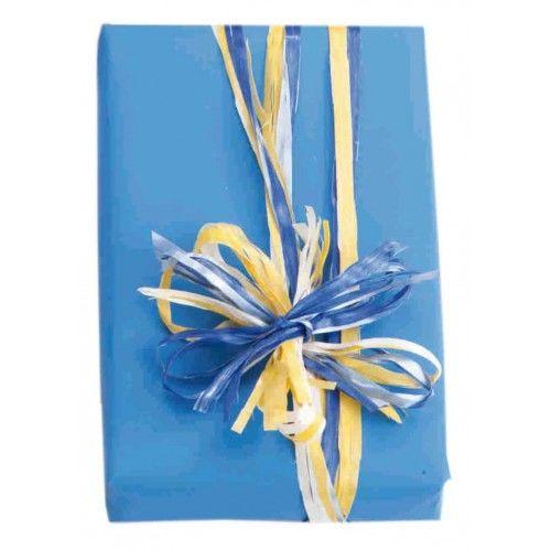 Rafia decorativa para adornar regalos