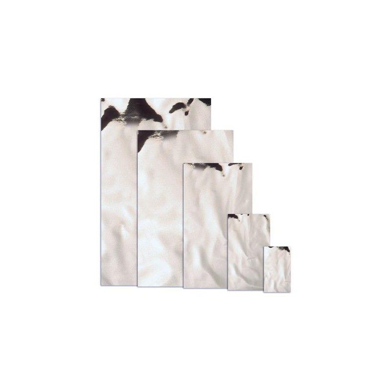 Sobres metalizados plata mate