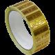 Etiquetas oro y plata 1ª ley para joyeria, rollos de 500 etiquetas