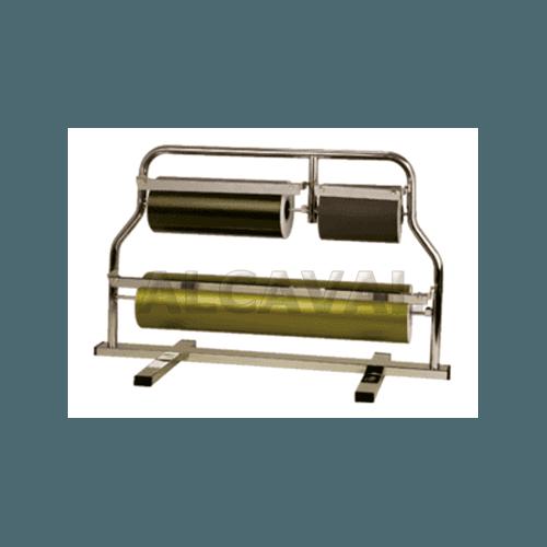 Portabobinas papel regalo 62+31+15 centimetros mostrador (Horizontal) niquelado plata