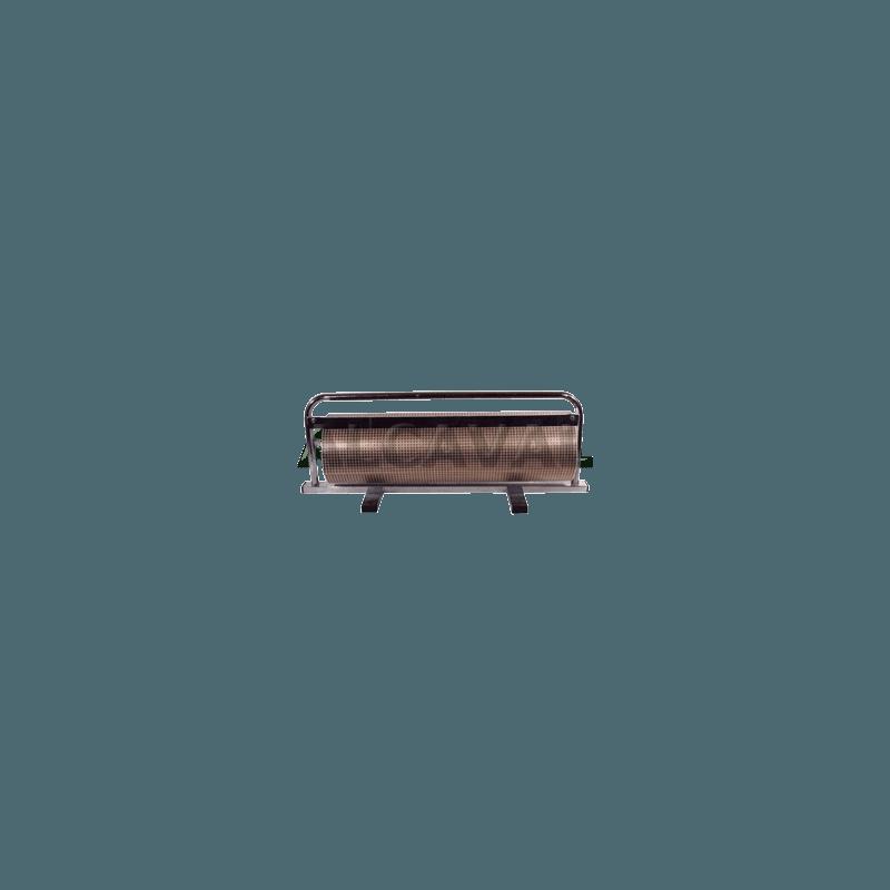Portabobinas papel regalo 62 centimetros mostrador (Horizontal) niquelado plata