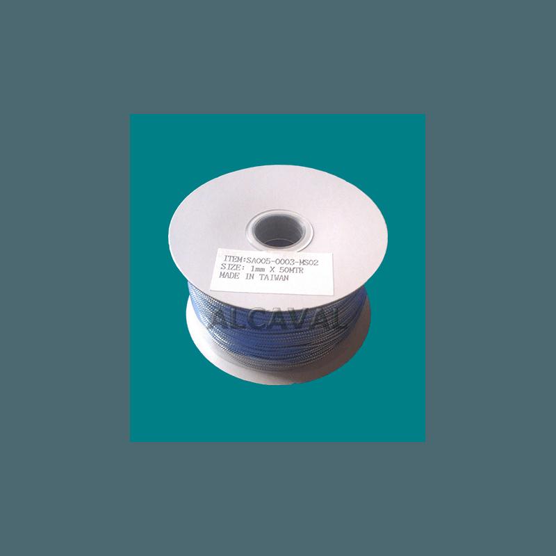 Cordón textil fino color plata rollo de 50 metros para decorar tus regalos