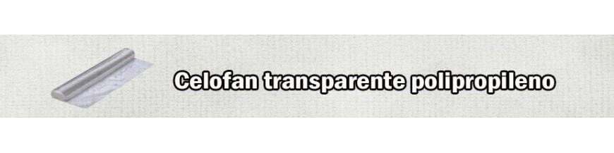 CELOFAN POLIPROPILENO TRANSPARENTE