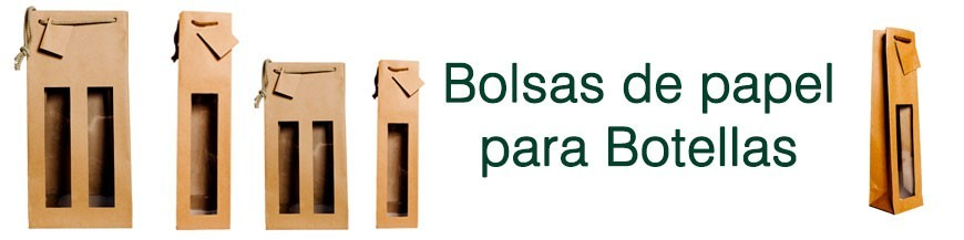 BOLSAS Y CAJAS PARA BOTELLAS