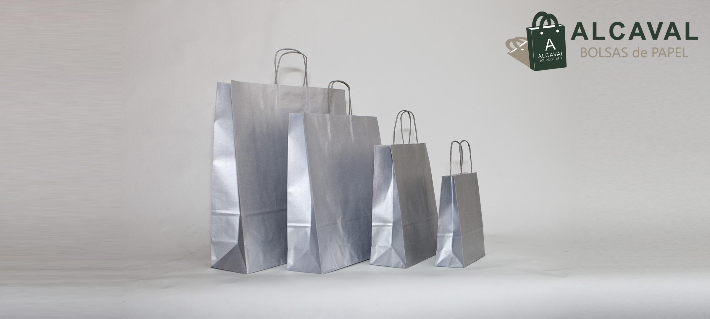 bolsas de papel asa retorcida