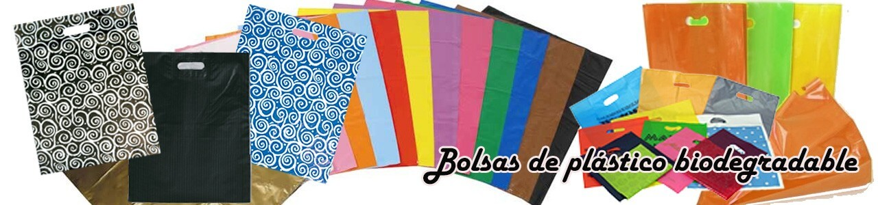 Bolsas de plastico biodegradable